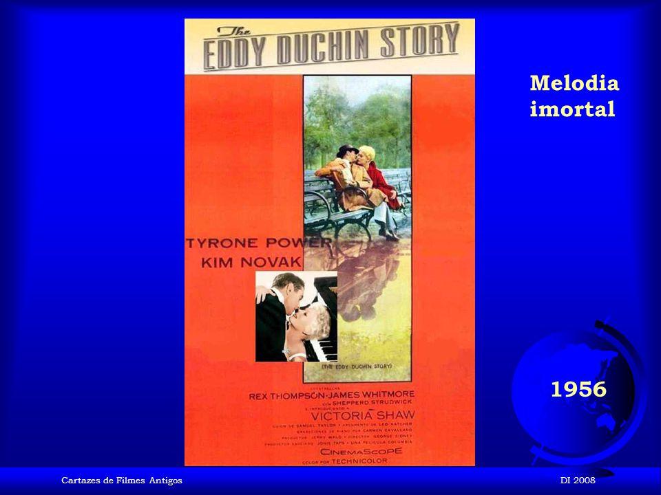 Melodia imortal 1956 Cartazes de Filmes Antigos DI 2008