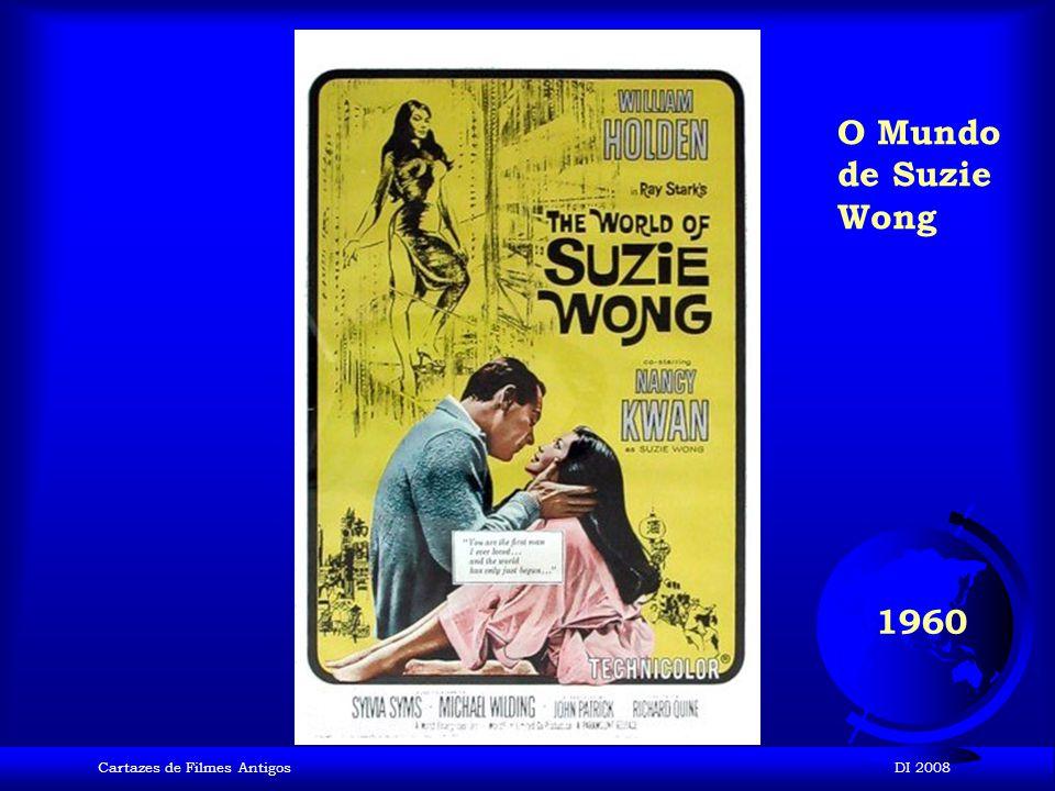 O Mundo de Suzie Wong 1960 Cartazes de Filmes Antigos DI 2008