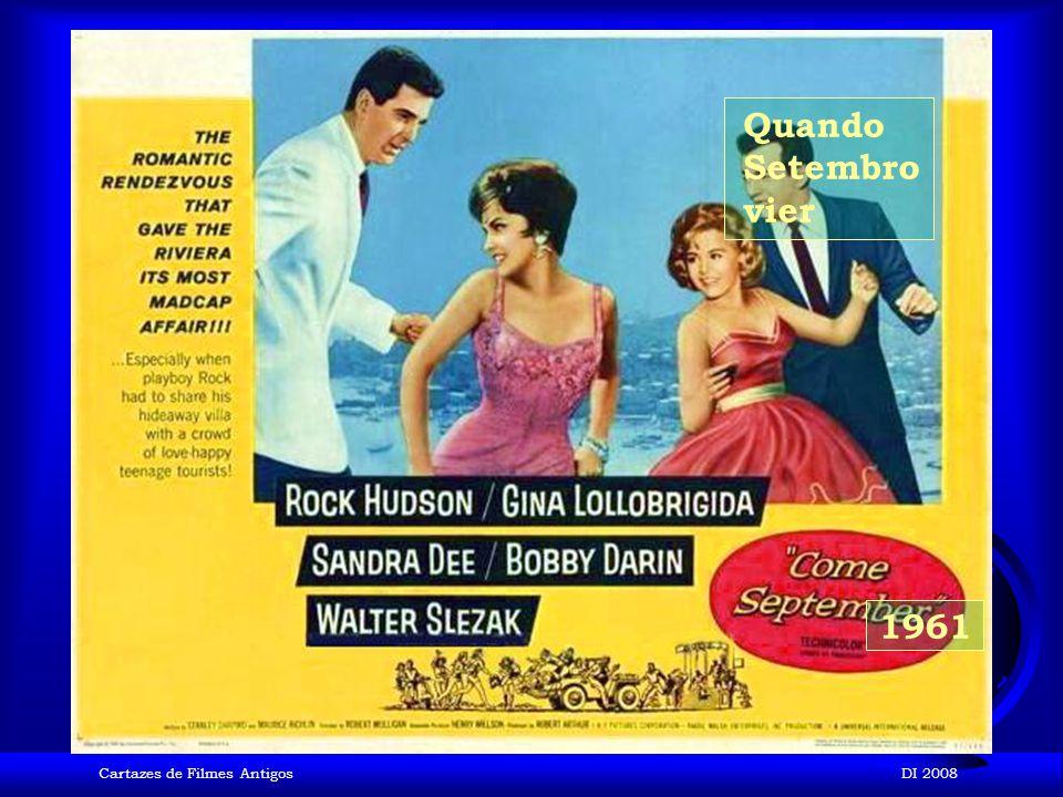 Quando Setembro vier 1961 Cartazes de Filmes Antigos DI 2008