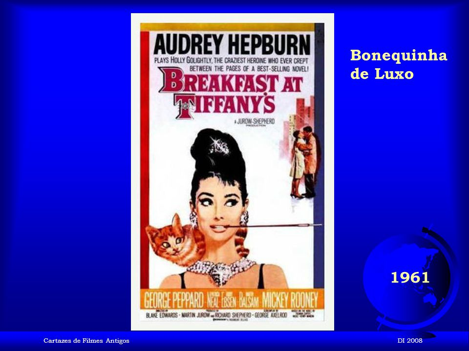 Bonequinha de Luxo 1961 Cartazes de Filmes Antigos DI 2008