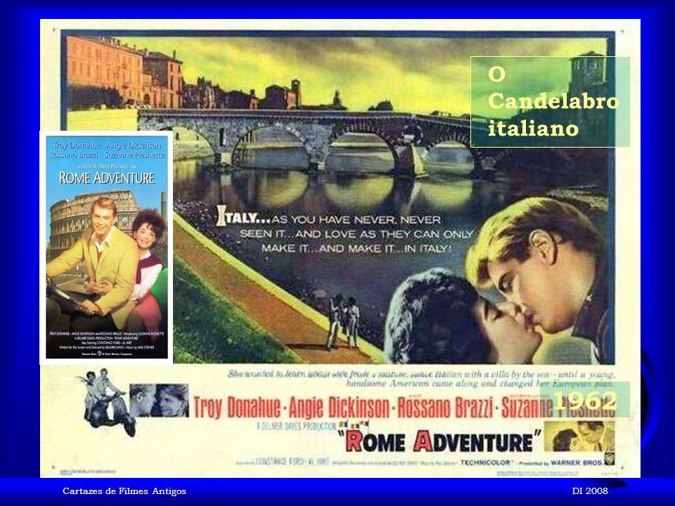O Candelabro italiano 1962 Cartazes de Filmes Antigos DI 2008