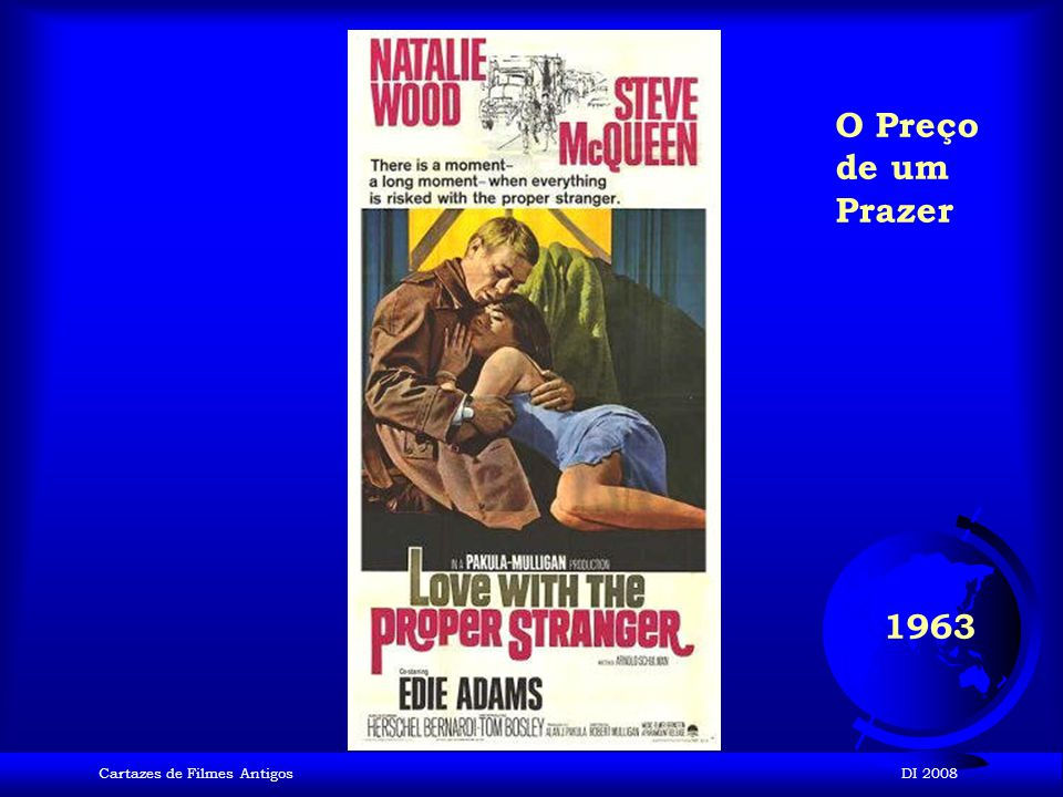 O Preço de um Prazer 1963 Cartazes de Filmes Antigos DI 2008