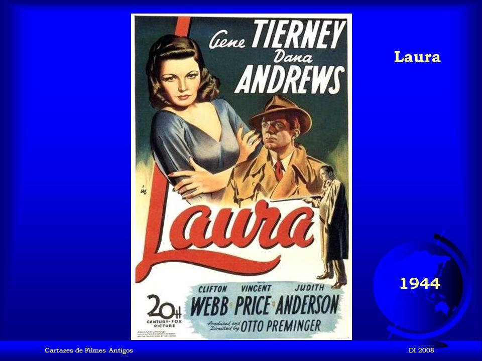 Laura 1944 Cartazes de Filmes Antigos DI 2008