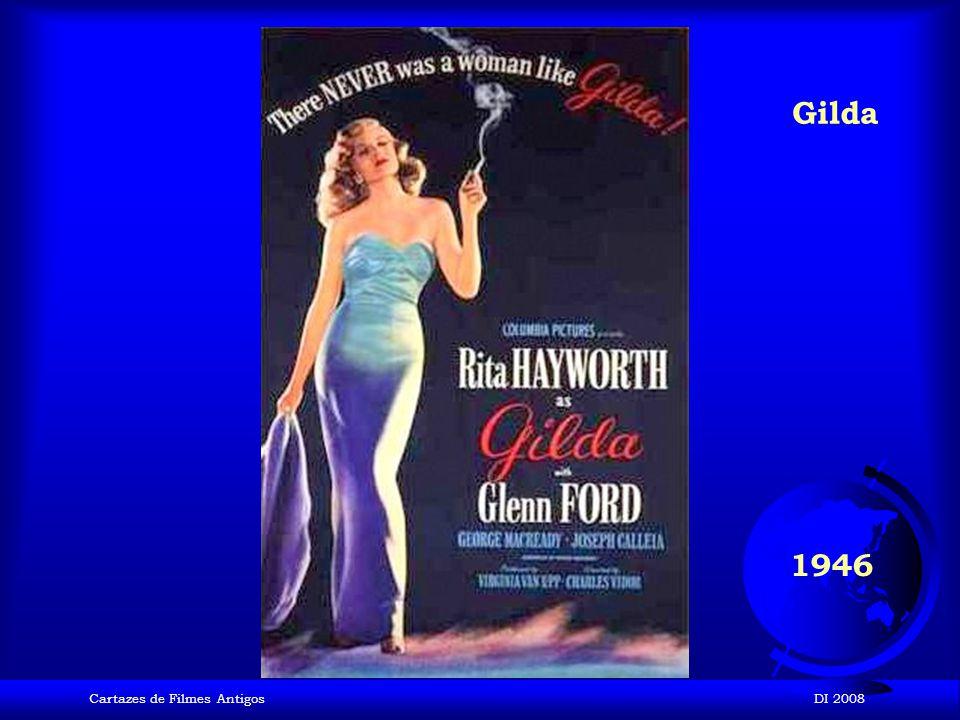 Gilda 1946 Cartazes de Filmes Antigos DI 2008