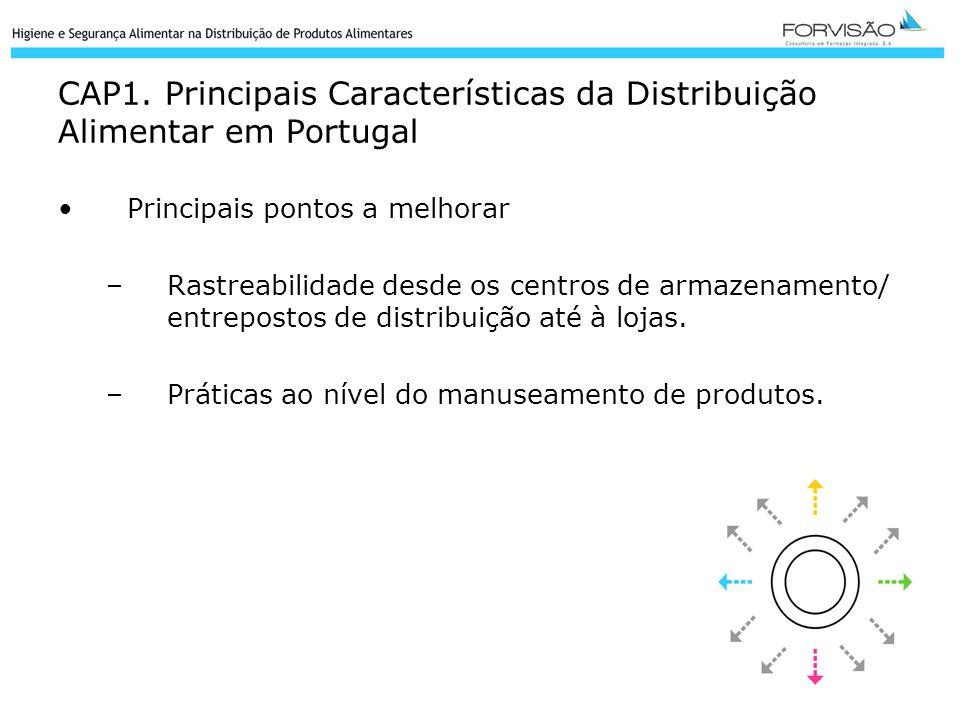 CAP1. Principais Características da Distribuição Alimentar em Portugal