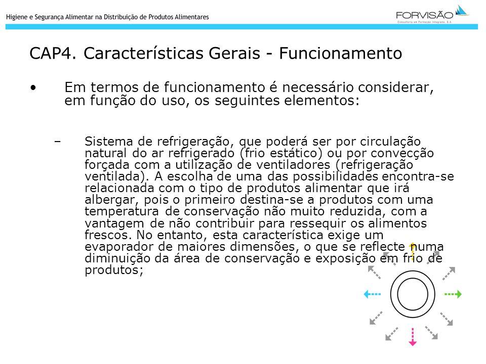 CAP4. Características Gerais - Funcionamento