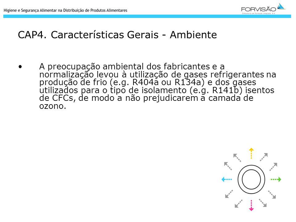 CAP4. Características Gerais - Ambiente