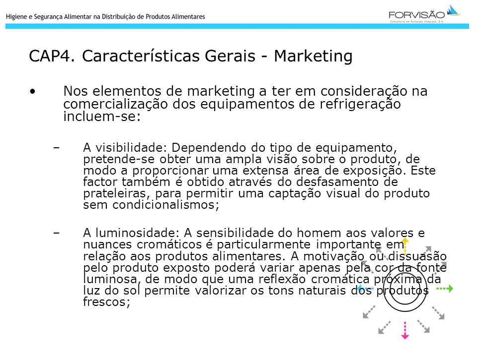 CAP4. Características Gerais - Marketing
