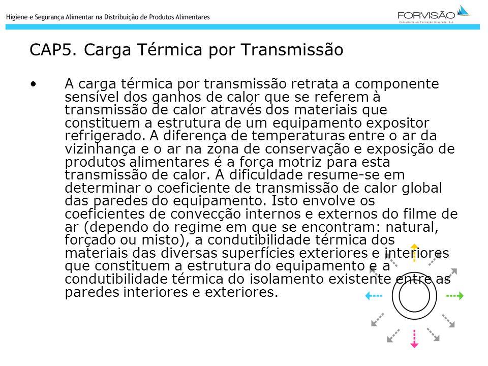 CAP5. Carga Térmica por Transmissão