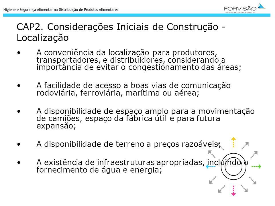CAP2. Considerações Iniciais de Construção - Localização