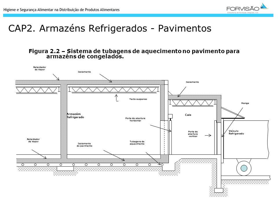 CAP2. Armazéns Refrigerados - Pavimentos