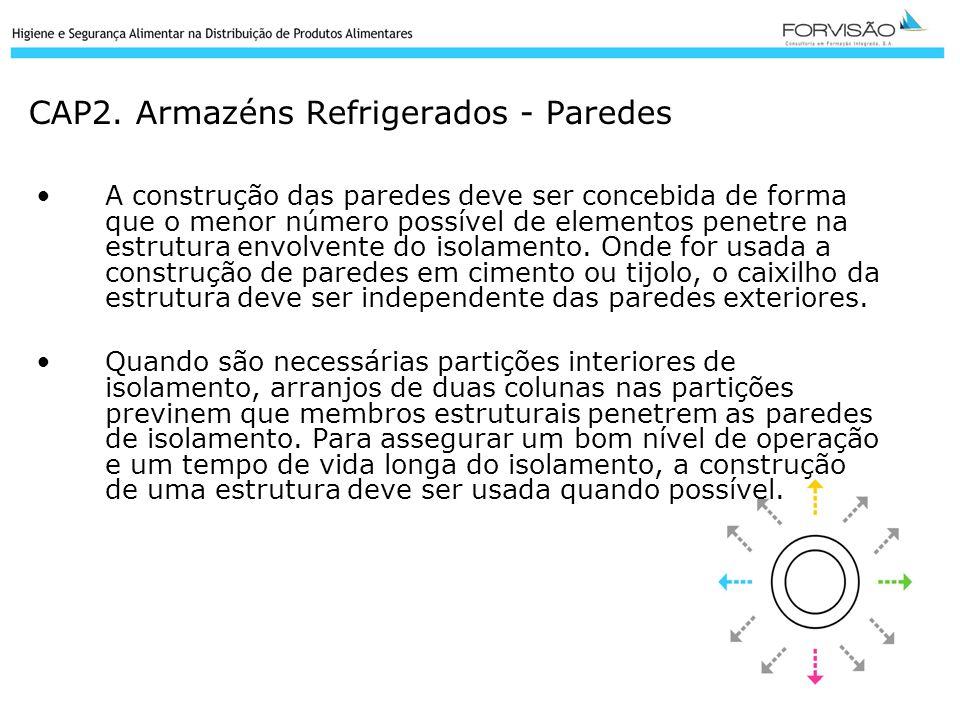 CAP2. Armazéns Refrigerados - Paredes