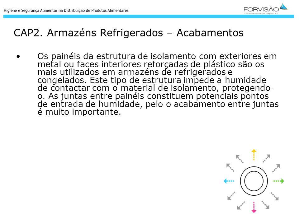 CAP2. Armazéns Refrigerados – Acabamentos