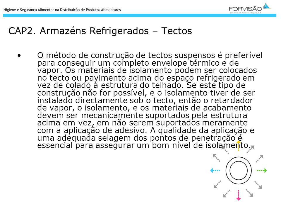 CAP2. Armazéns Refrigerados – Tectos