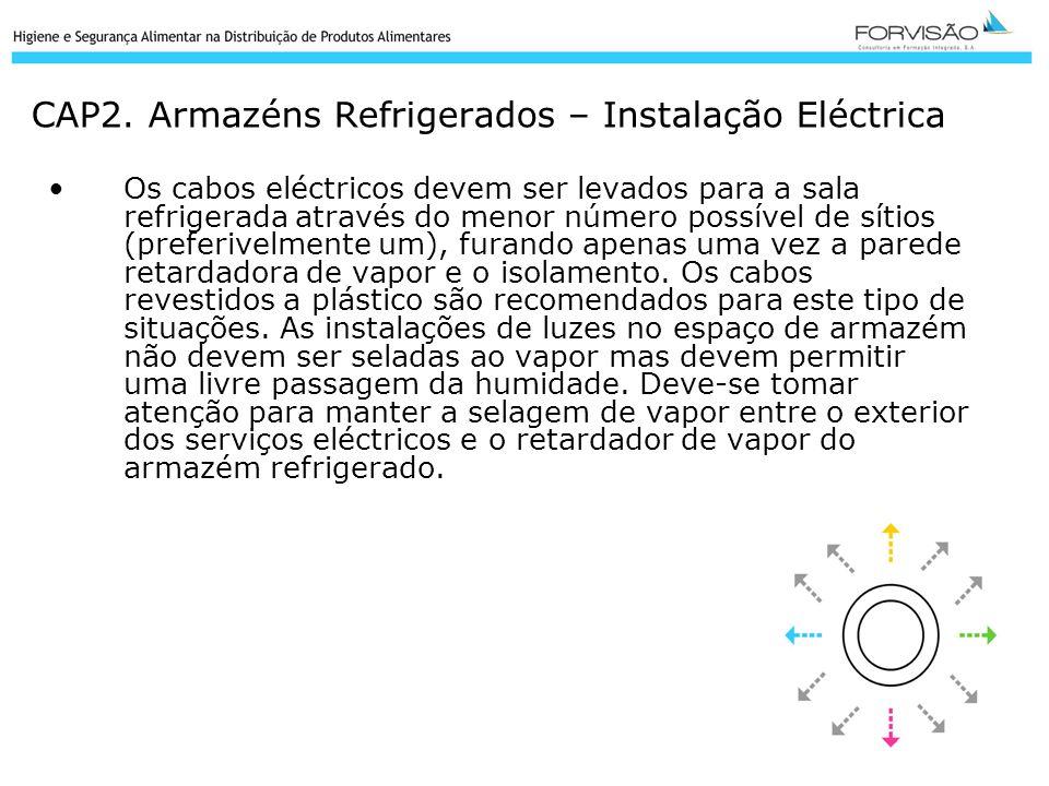 CAP2. Armazéns Refrigerados – Instalação Eléctrica