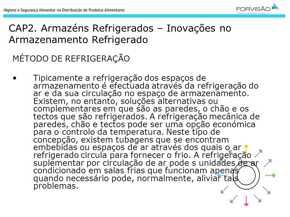 CAP2. Armazéns Refrigerados – Inovações no Armazenamento Refrigerado