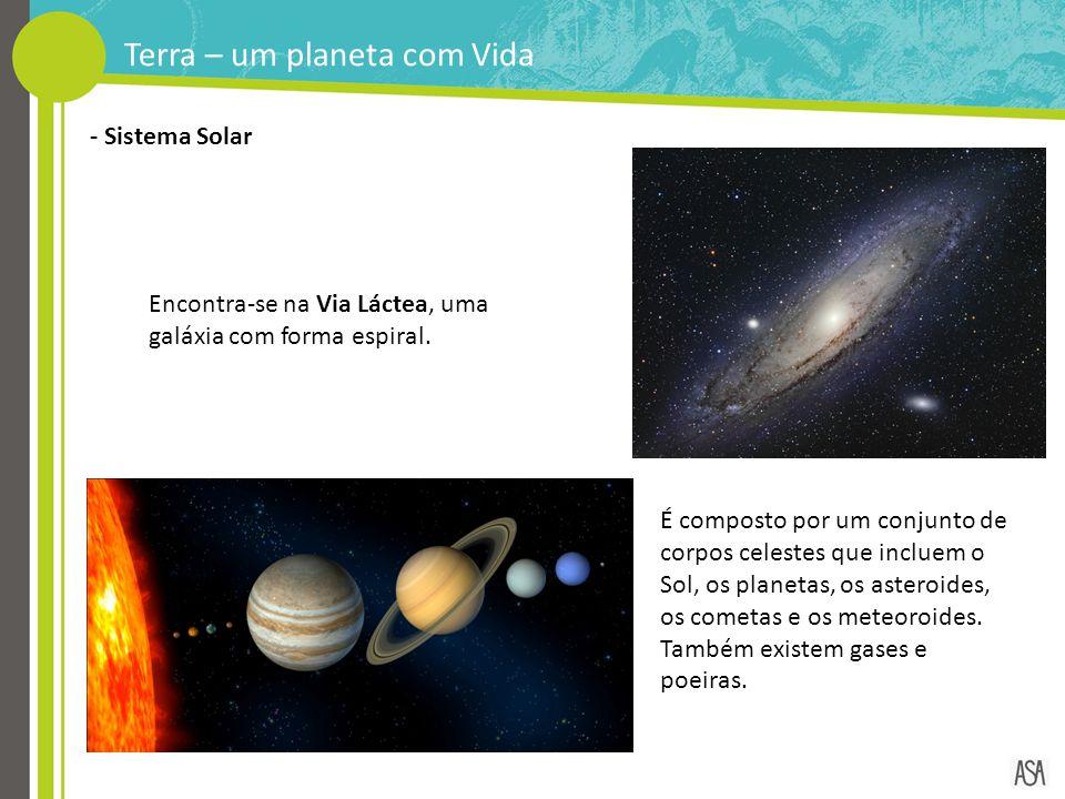 Terra – um planeta com Vida