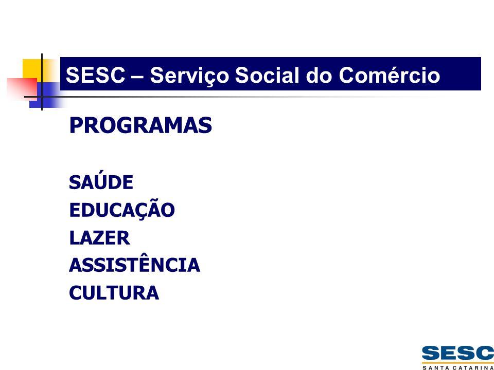 SESC – Serviço Social do Comércio