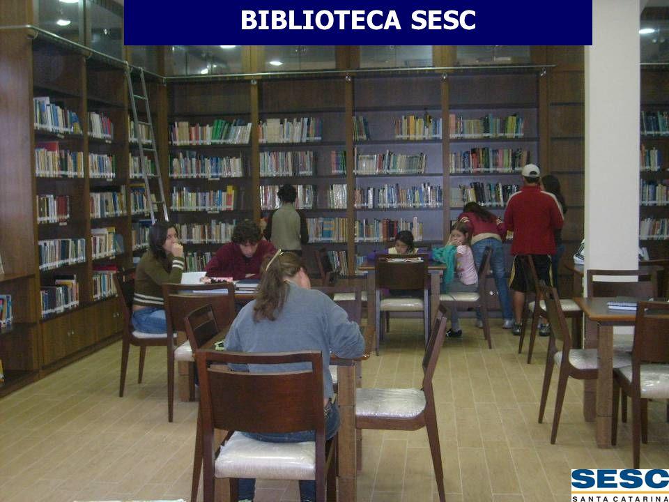 BIBLIOTECA SESC BIBLIOTECA