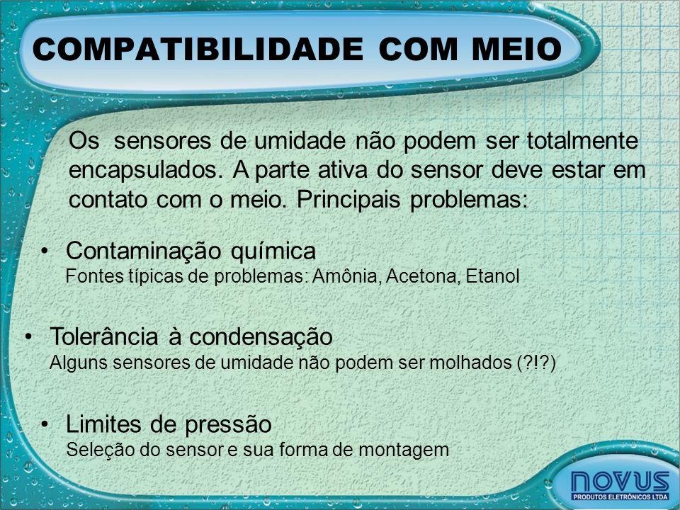 COMPATIBILIDADE COM MEIO