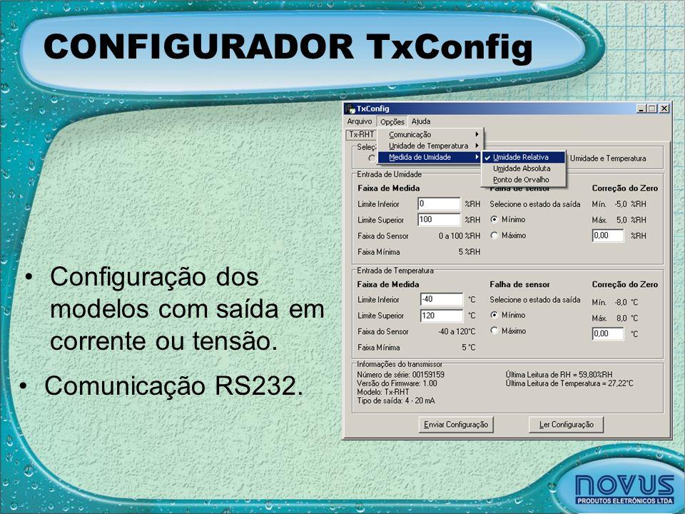 CONFIGURADOR TxConfig