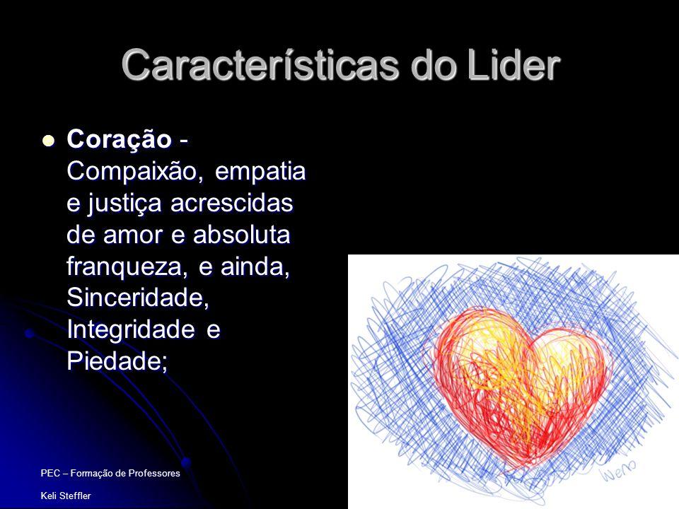 Características do Lider