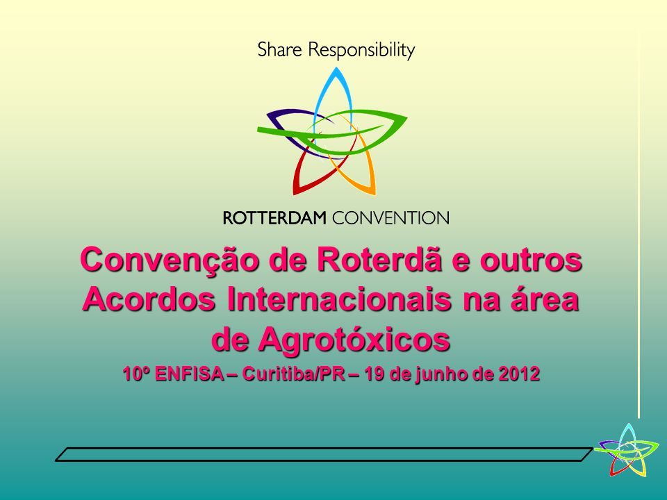 10º ENFISA – Curitiba/PR – 19 de junho de 2012