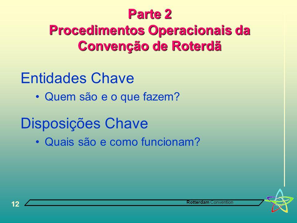 Parte 2 Procedimentos Operacionais da Convenção de Roterdã