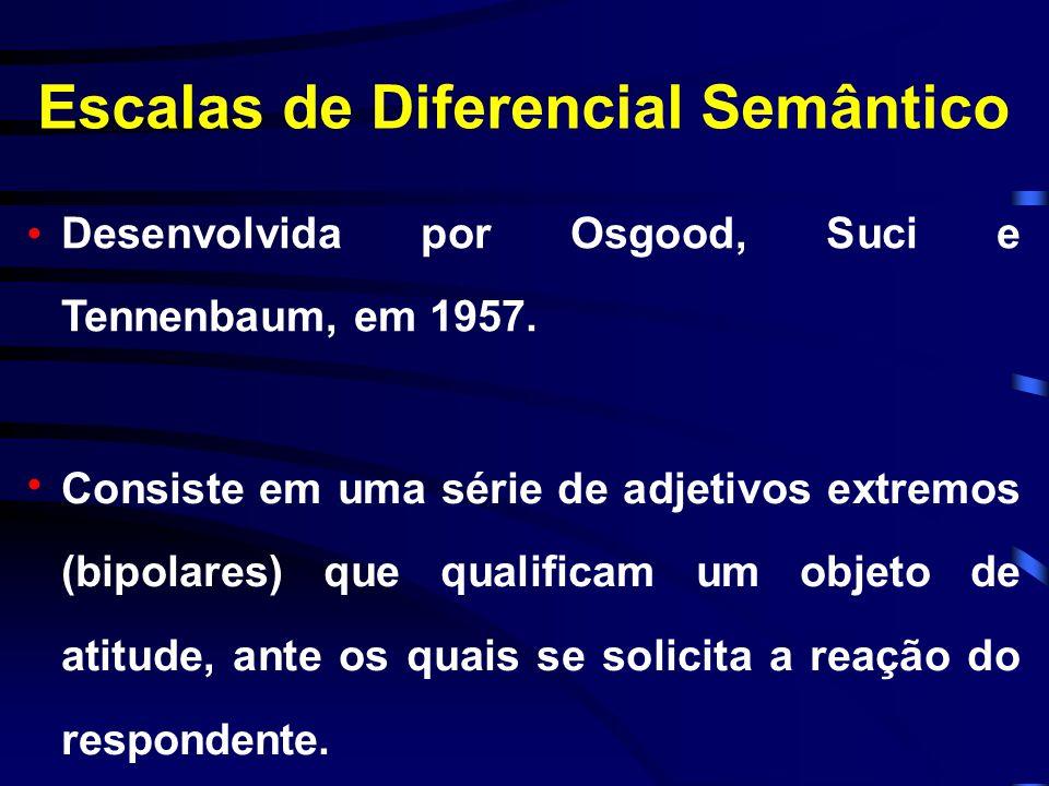 Escalas de Diferencial Semântico