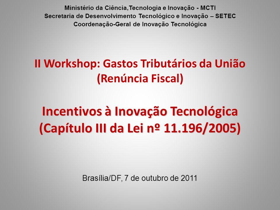 Ministério da Ciência,Tecnologia e Inovação - MCTI