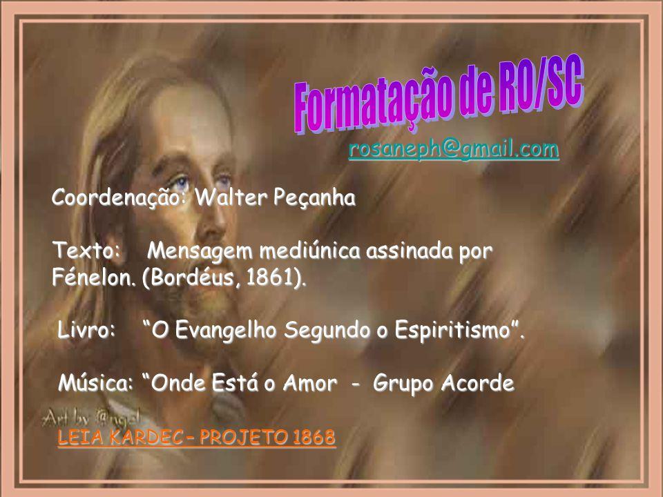 Formatação de RO/SC rosaneph@gmail.com