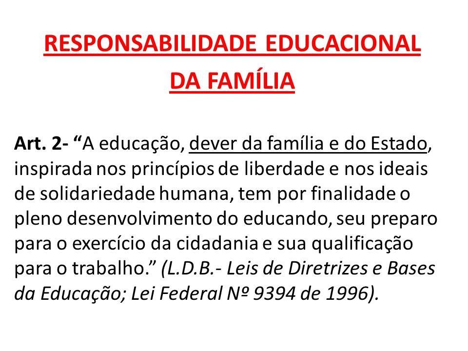 RESPONSABILIDADE EDUCACIONAL