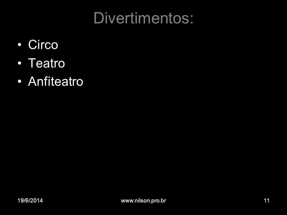 Divertimentos: Circo Teatro Anfiteatro 02/04/2017 www.nilson.pro.br