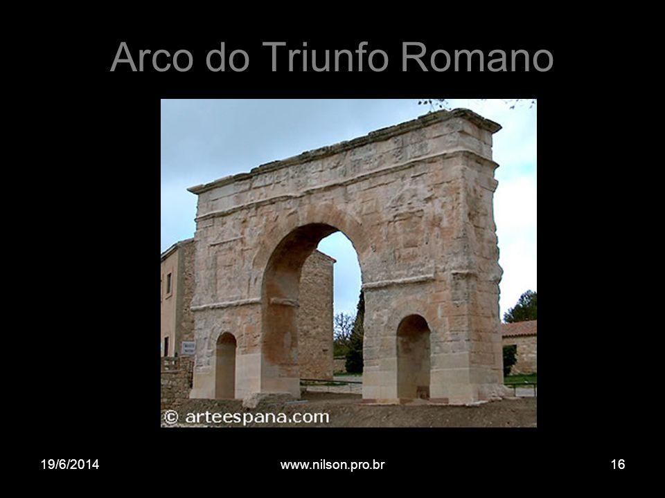 Arco do Triunfo Romano 02/04/2017 www.nilson.pro.br