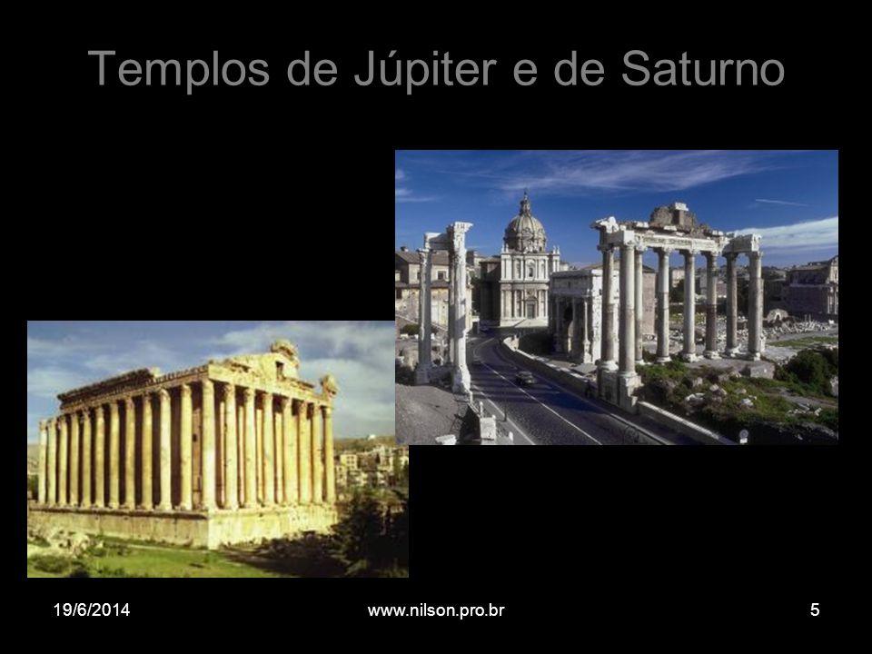 Templos de Júpiter e de Saturno