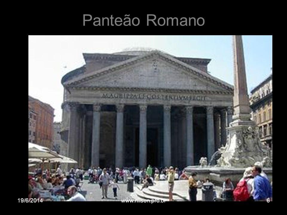 Panteão Romano 02/04/2017 www.nilson.pro.br