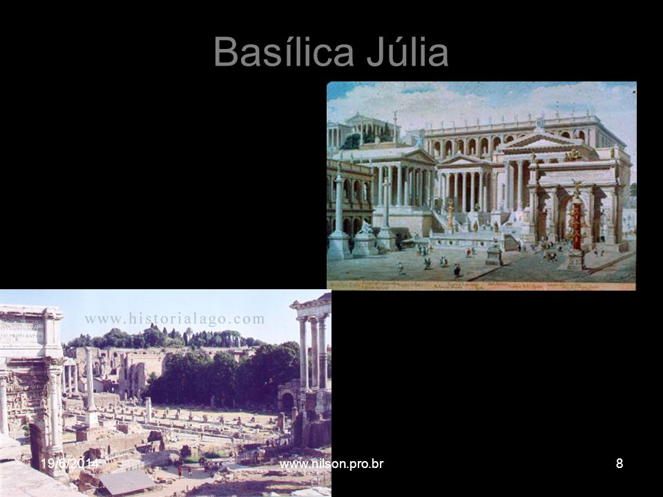 Basílica Júlia 02/04/2017 www.nilson.pro.br