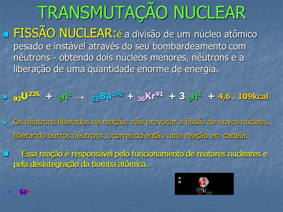 TRANSMUTAÇÃO NUCLEAR
