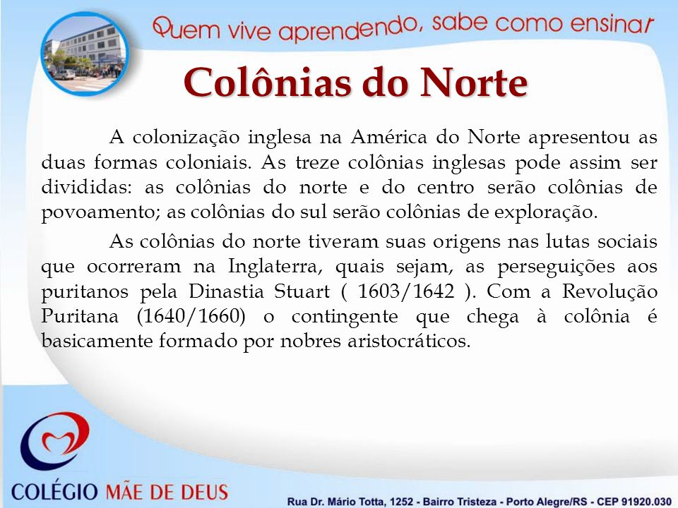 Colônias do Norte