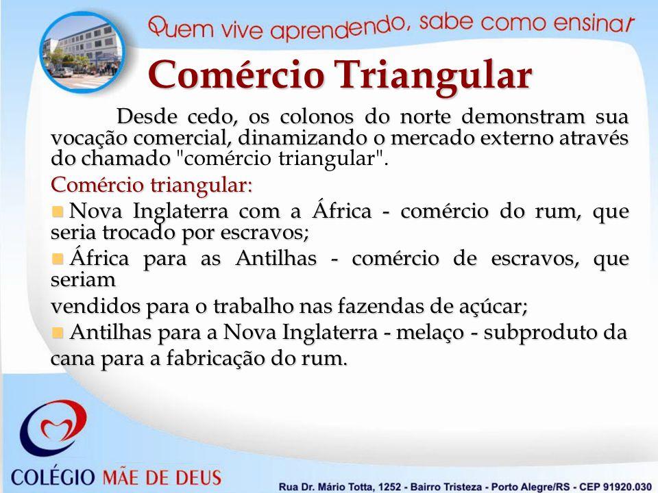 Comércio Triangular Comércio triangular: