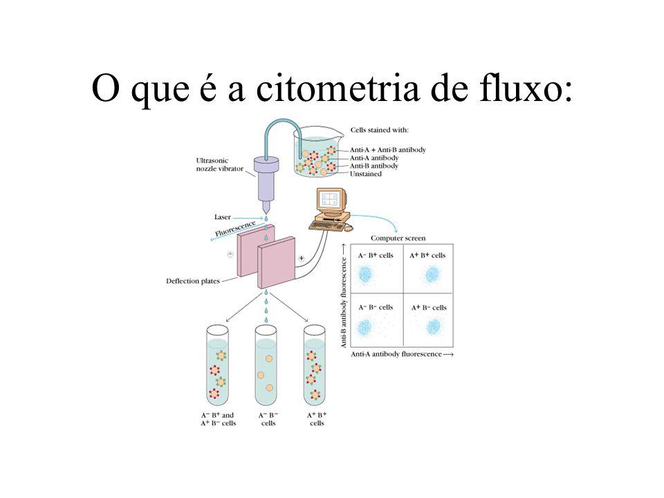 O que é a citometria de fluxo: