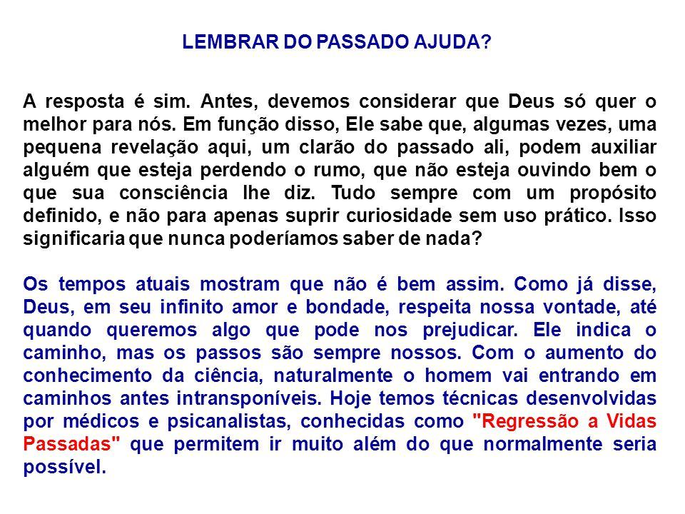 LEMBRAR DO PASSADO AJUDA