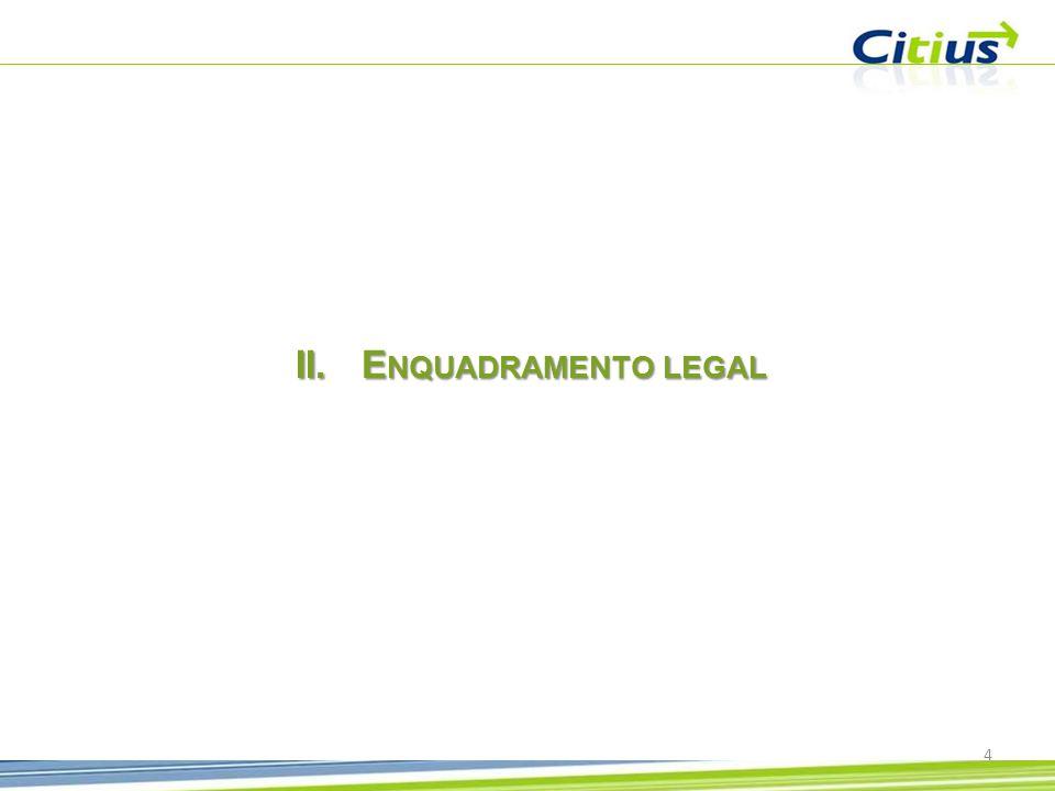 Enquadramento legal