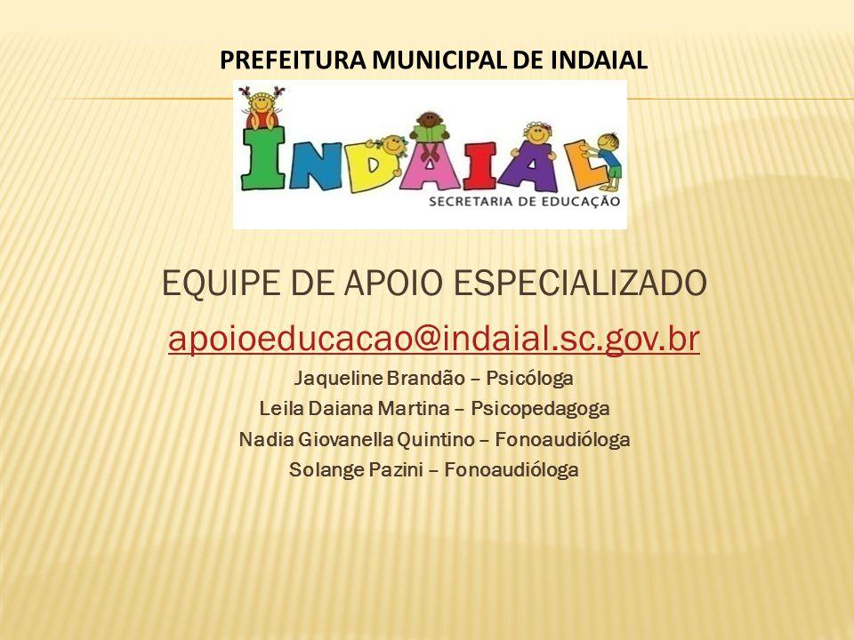 PREFEITURA MUNICIPAL DE INDAIAL
