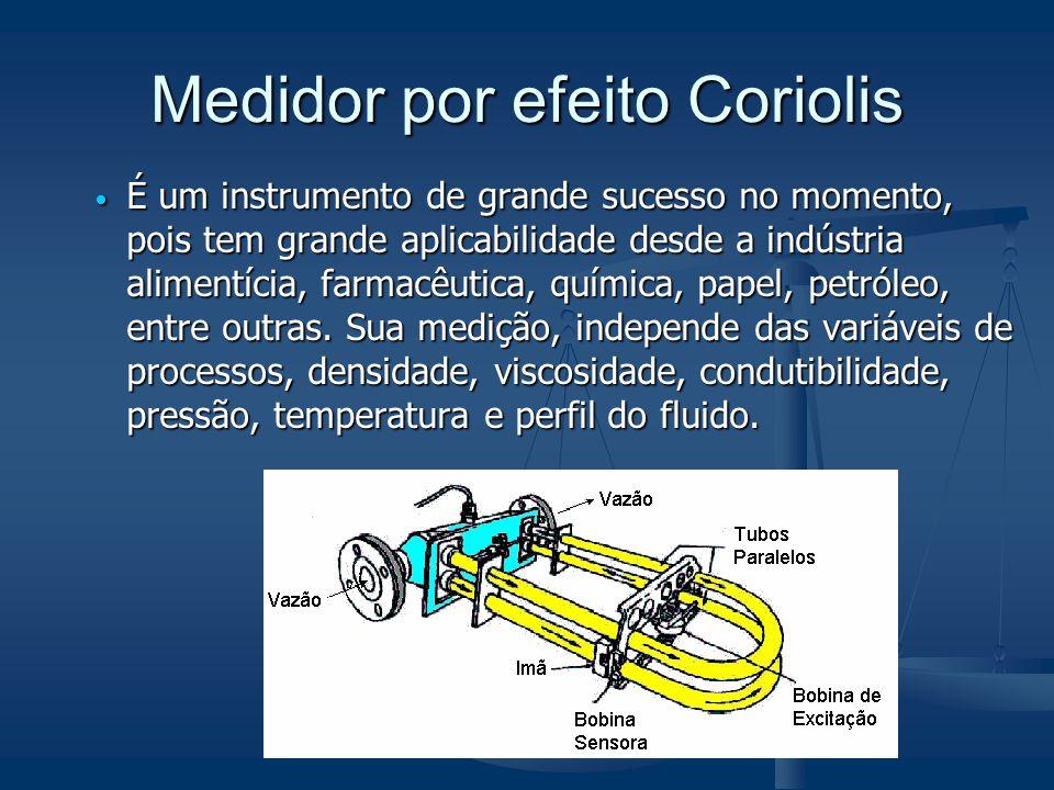Medidor por efeito Coriolis