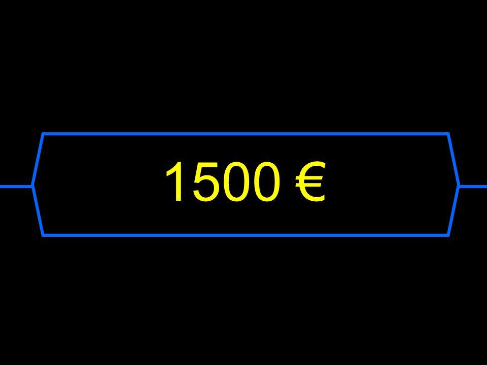 1500 €