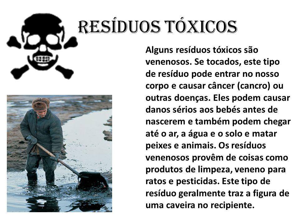 Resíduos tóxicos