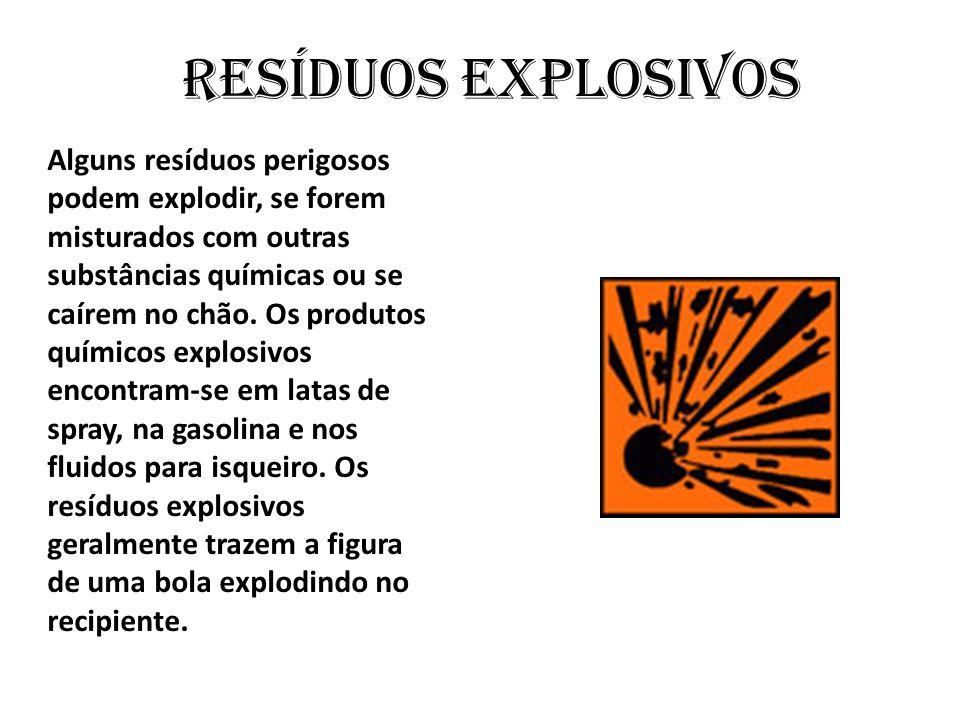 Resíduos explosivos