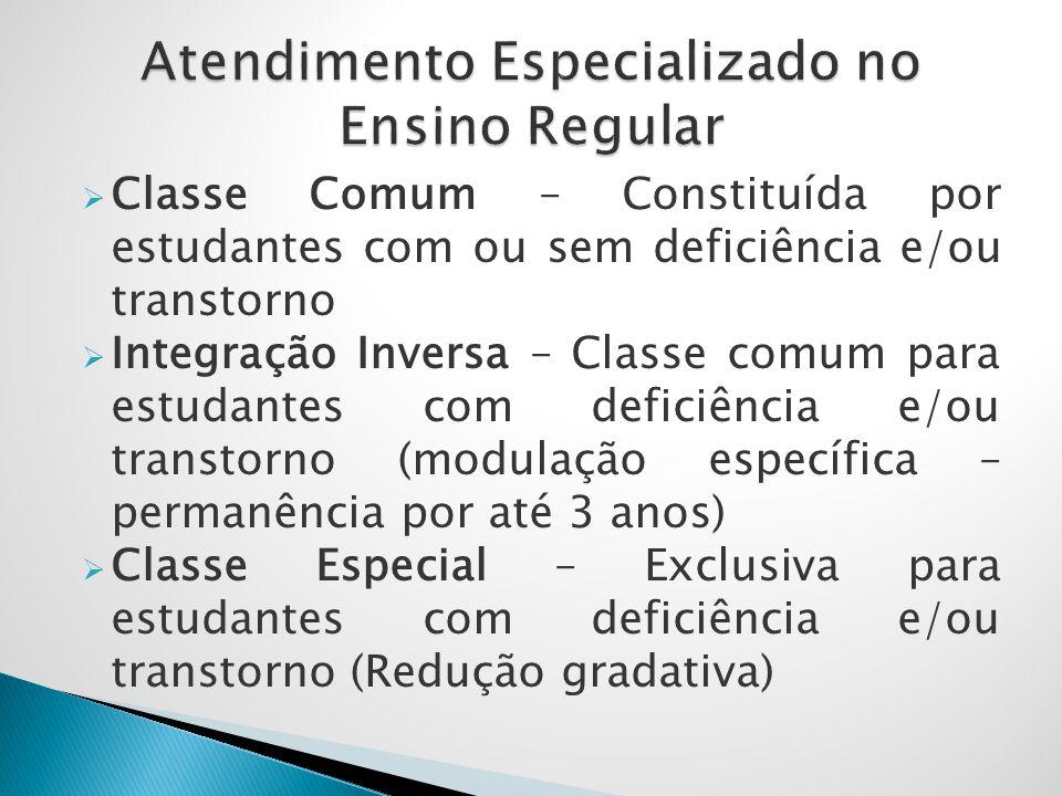 Atendimento Especializado no Ensino Regular