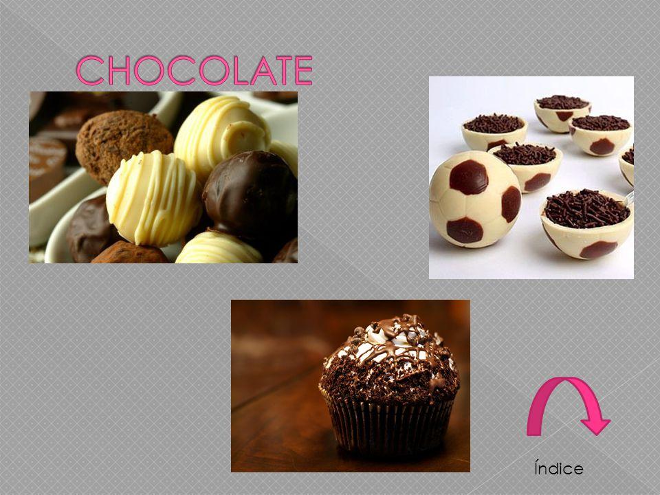 CHOCOLATE Índice